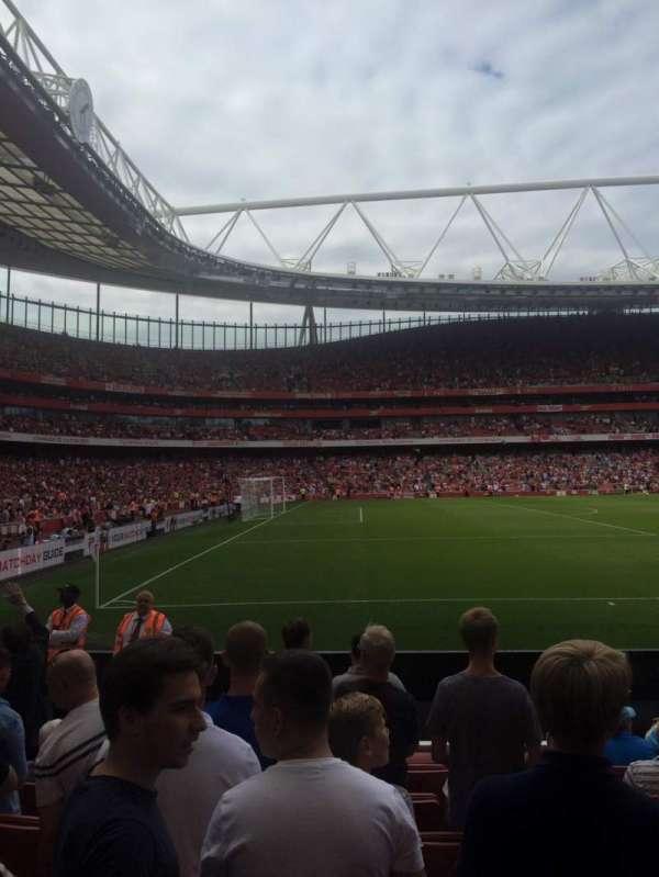 Emirates Stadium, sección: 20, fila: 8, asiento: 602