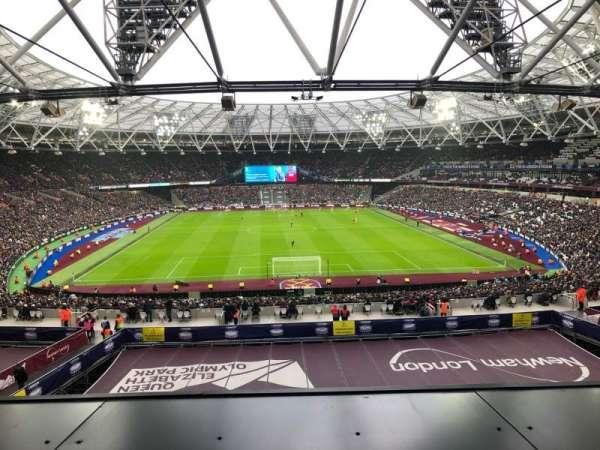 London Stadium, sección: 250, fila: 49, asiento: 08
