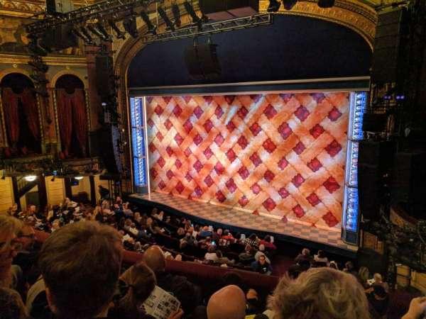Brooks Atkinson Theatre, sección: Front Mezzanine R, fila: D, asiento: 16