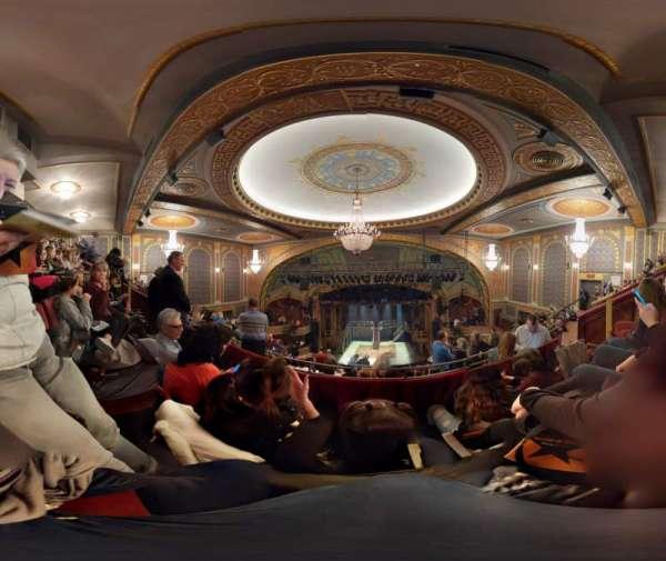Richard Rodgers Theatre, sección: Rear Mezzanine C, fila: H, asiento: 104