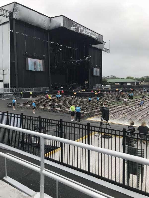 Hershey Park Stadium, sección: 8, fila: BB, asiento: 16