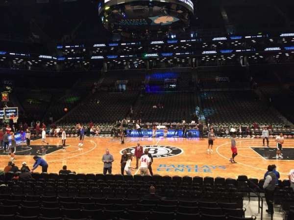 Barclays Center, sección: 24, fila: 15