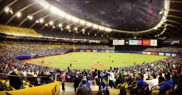 Olympic Stadium, Montreal, sección: 109, fila: M, asiento: 11