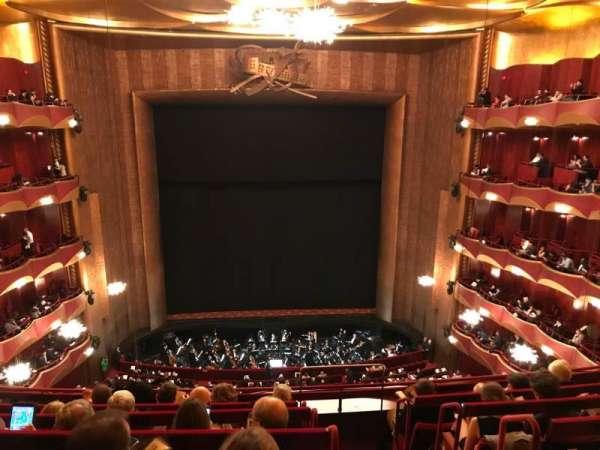 Metropolitan Opera House - Lincoln Center, sección: Balcony, fila: F, asiento: 101