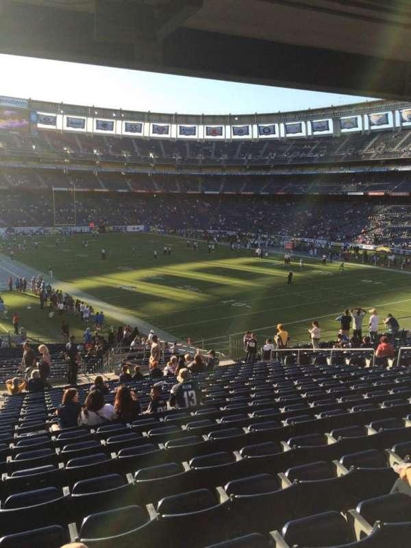 SDCCU Stadium, sección: P47, fila: 19, asiento: 2