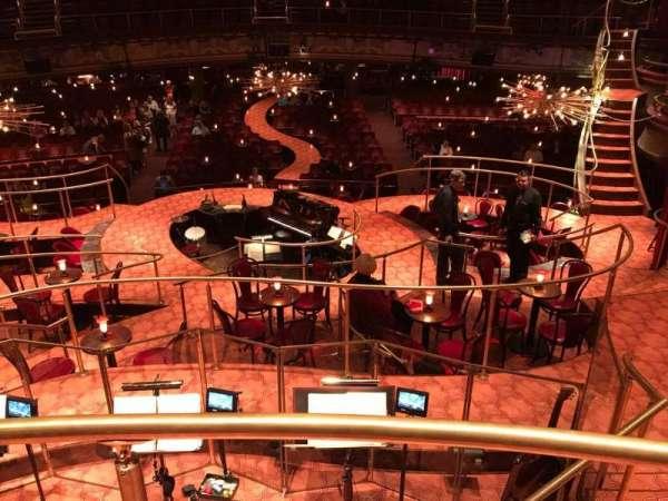 Imperial Theatre, sección: TG, asiento: 1