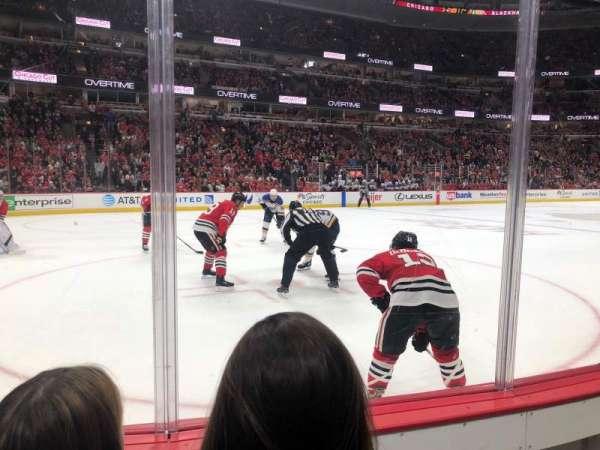 United Center, sección: 114, fila: 2, asiento: 4