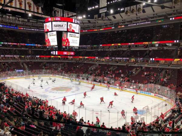 United Center, sección: 213, fila: 1, asiento: 6