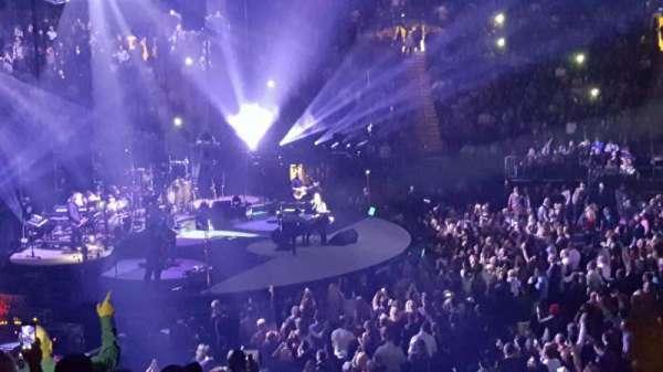 Madison Square Garden, sección: 116, fila: 17, asiento: 14
