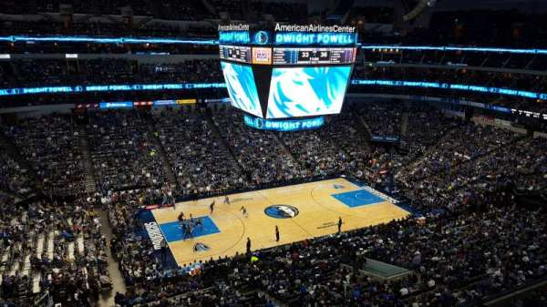 American Airlines Center, sección: 329, fila: A, asiento: 2