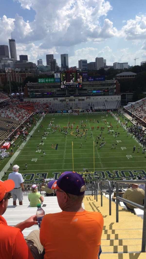 Bobby Dodd Stadium, sección: 216, fila: 22, asiento: 27