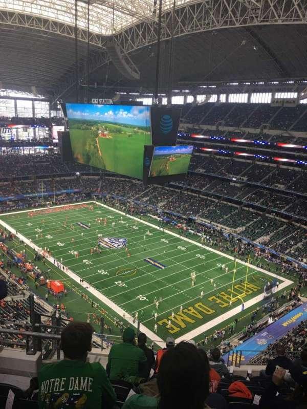 AT&T Stadium, sección: 404, fila: 17, asiento: 15