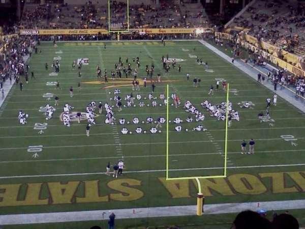 Sun Devil Stadium, sección: 225, fila: 9, asiento: 11