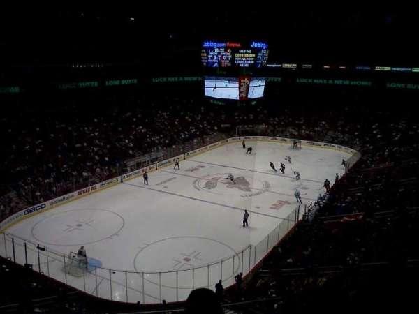Gila River Arena, sección: 205, fila: C, asiento: 9