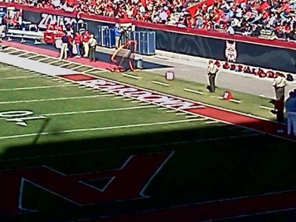Arizona Stadium, sección: 12, fila: 30, asiento: 16