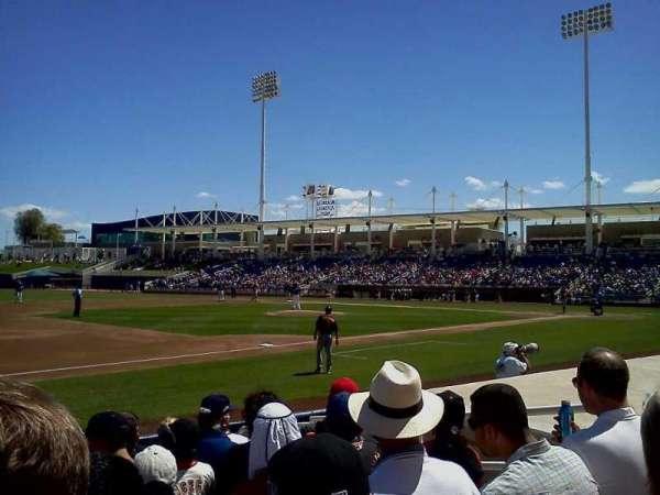 Maryvale Baseball Park, sección: 114, fila: H, asiento: 6