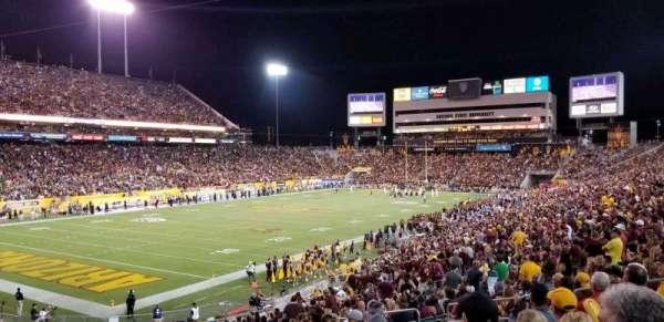Sun Devil Stadium, sección: 12, fila: 15, asiento: 10