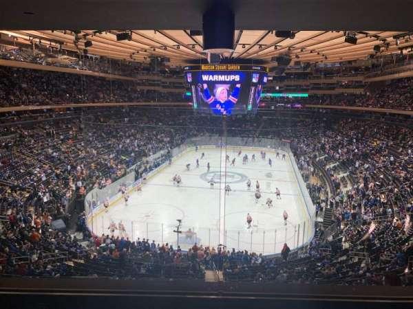 Madison Square Garden, sección: 218, fila: 4, asiento: 5