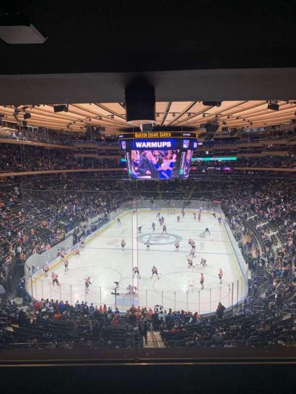 Madison Square Garden, sección: 218, fila: 4WC, asiento: 5