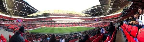 Wembley Stadium, sección: 124, fila: 34, asiento: 32