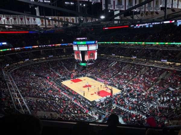 United Center, sección: 312, fila: 11, asiento: 14