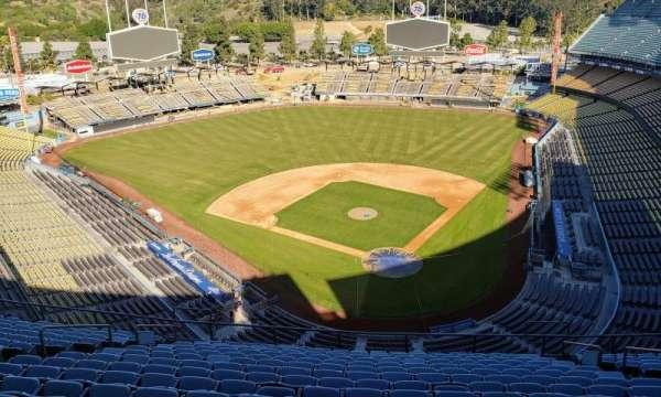 Dodger Stadium, sección: Press box