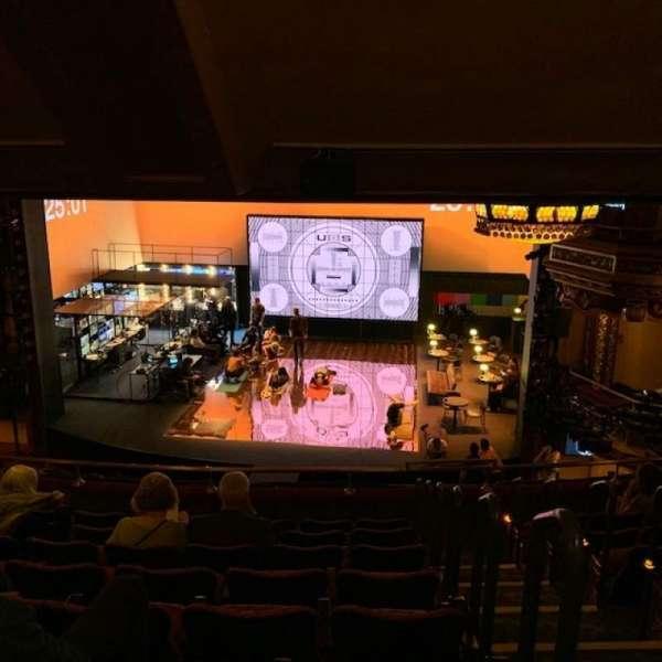 Belasco Theatre, sección: Mezzanine C, fila: H, asiento: 111