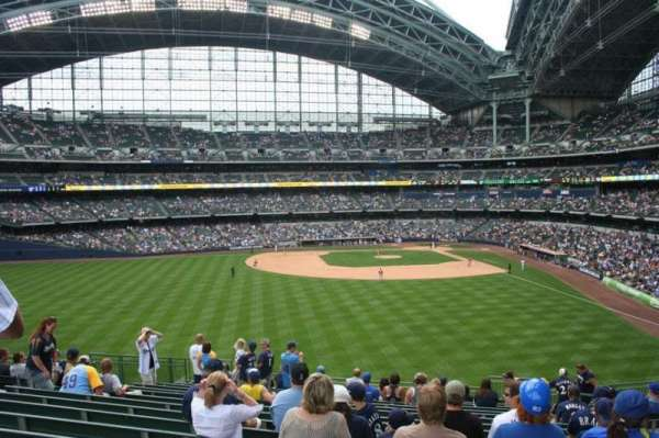 Miller Park, sección: 237, fila: 16, asiento: Bench seat