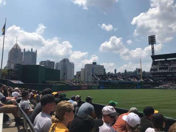 PNC Park, sección: 135, fila: D, asiento: 1