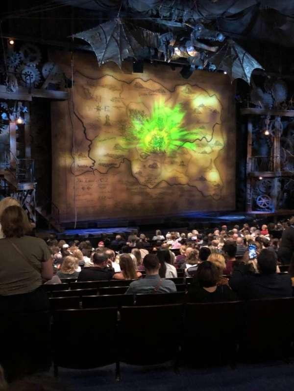 Gershwin Theatre, sección: Orchestra, fila: S, asiento: 27