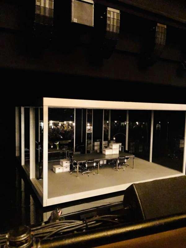 Nederlander Theatre, sección: MEZZ, fila: A, asiento: 7