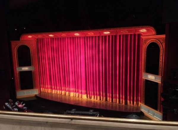Marquis Theatre, sección: Mezzanine R, fila: B, asiento: 10