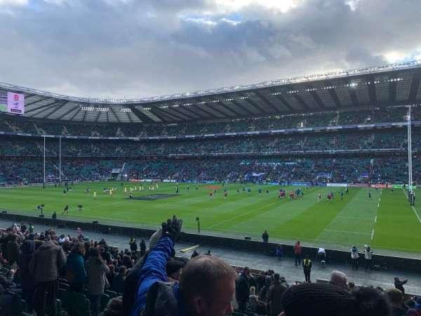 Twickenham Stadium, sección: L22, fila: 27, asiento: 108