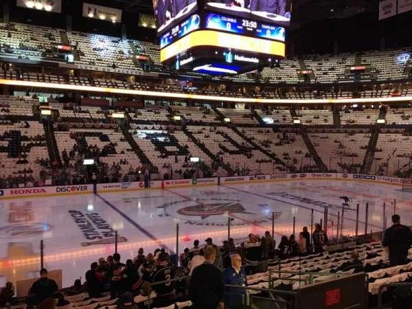 Nationwide Arena, sección: 116, fila: R, asiento: 8