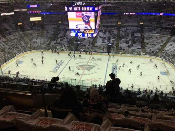 Nationwide Arena, sección: 216, fila: L, asiento: 18