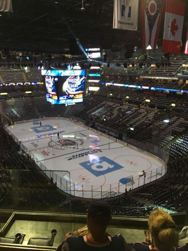 Nationwide Arena, sección: 212, fila: G, asiento: 14