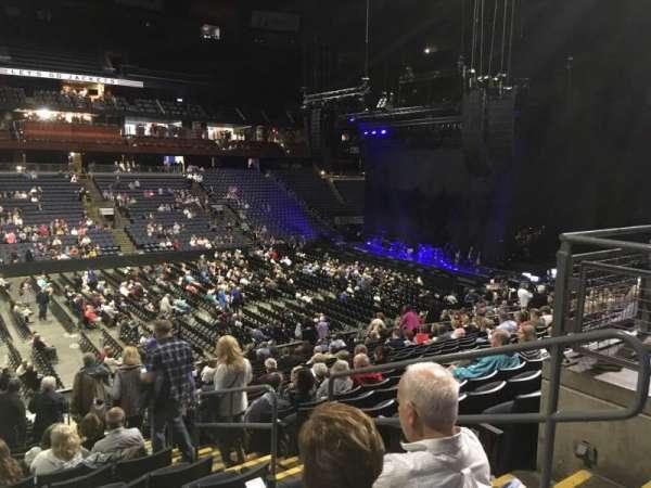 Nationwide Arena, sección: 105, fila: Y, asiento: 3