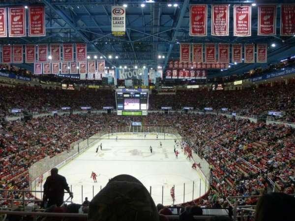 Joe Louis Arena, sección: 228, fila: 8, asiento: 7
