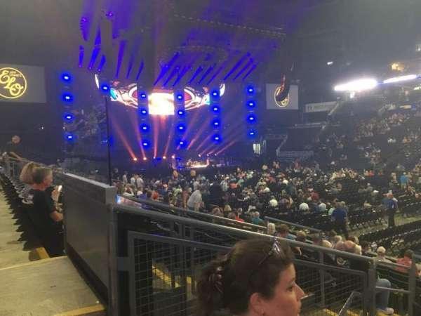 Nationwide Arena, sección: 113, fila: M, asiento: 15