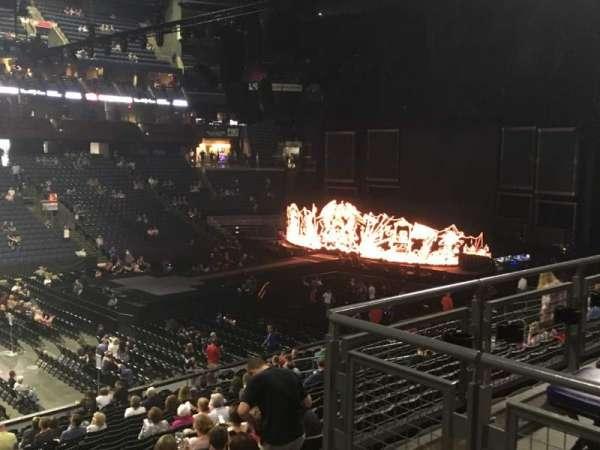 Nationwide Arena, sección: 105, fila: Y, asiento: 1