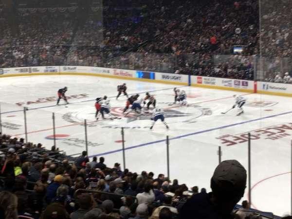 Nationwide Arena, sección: 112, fila: W, asiento: 5