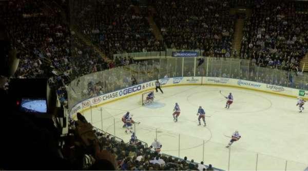 Madison Square Garden, sección: 224, fila: 3, asiento: 7