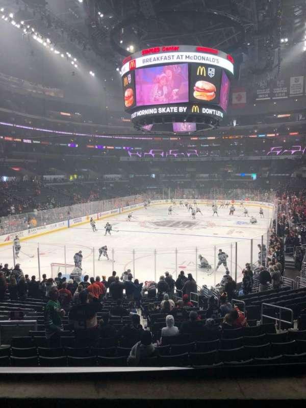 Staples Center, sección: 205, fila: 2, asiento: 5