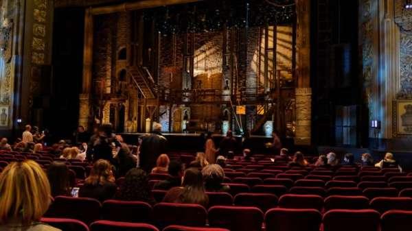 Hollywood Pantages Theatre, sección: Orchestra RC, fila: Q, asiento: 207