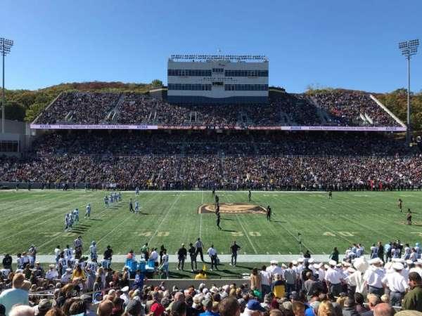 Michie Stadium, sección: 29, fila: X, asiento: 10