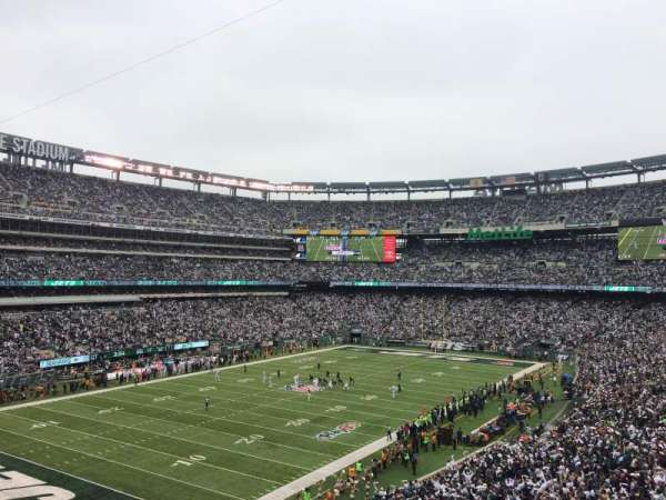 Metlife Stadium Floor Plan: MetLife Stadium, Sección 245a, Casa De New York Jets, New