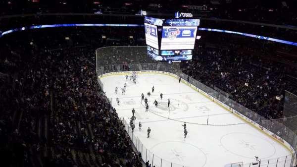 Nationwide Arena, sección: 226, fila: P, asiento: 11