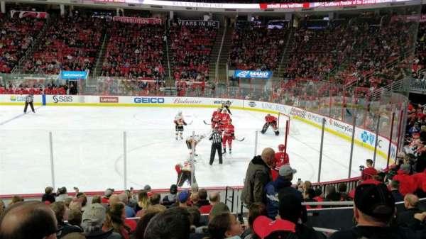 PNC Arena, sección: 117, fila: M, asiento: 3