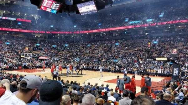 Scotiabank Arena, sección: 118, fila: 8, asiento: 1