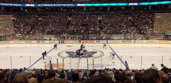 Scotiabank Arena, sección: 108, fila: 20, asiento: 10